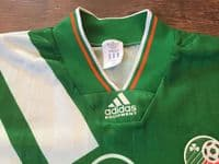 Global Classic Football Shirts 1992 Republic of Ireland Vintage Old Soccer Jersey